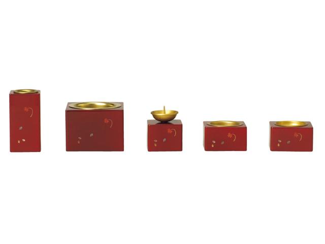 木製シリーズ クワトロ 5点 ワイン