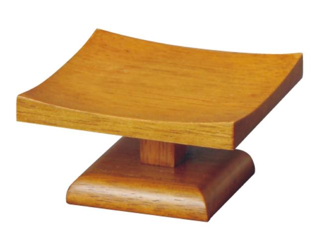 木製 低高月(半対) ブラウン色 2.5寸〜3.0寸/3.0寸