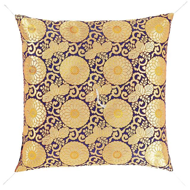 仏前座布団 八重菊 紫