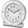 [クロック/時計の名入れ・文字入れOK] コチコチ音のない連続秒針のめざまし時計 視認性の良いシンプルスタイルです シチズンめざまし時計 【セリアRA18】 8REA18-019 [送料区分:A][ラッピング・のし書き・手提げバッグ無料]
