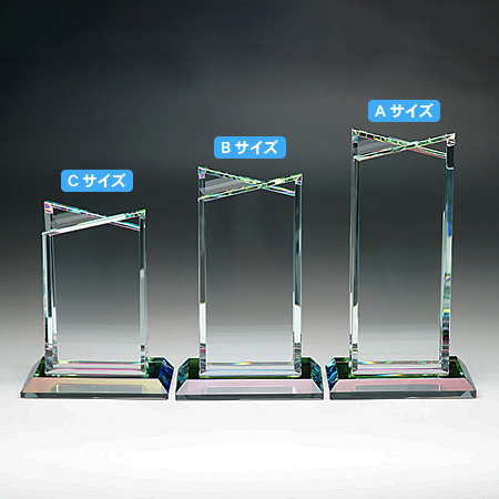 ホワイトガラス製トロフィーWCR40_02