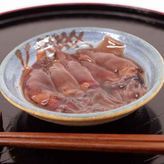 ほたるいか醤油漬け(柚子風味)