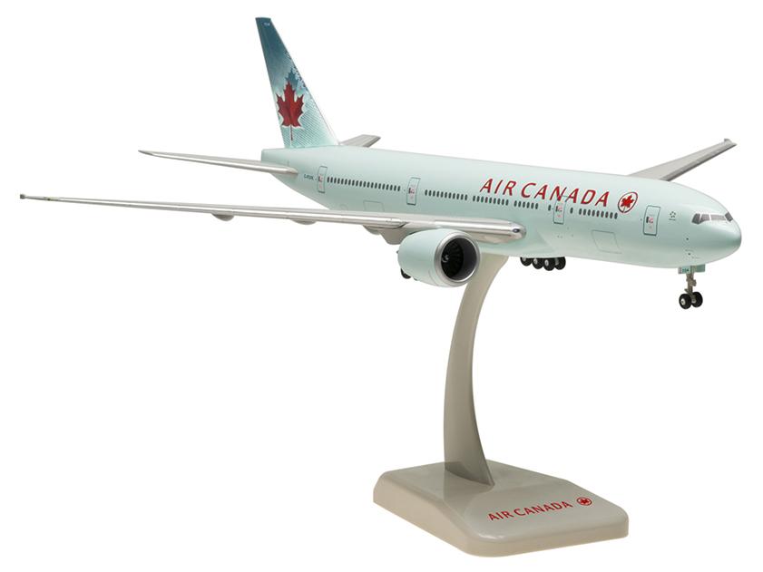 HoganWings/ホーガンウイングス B777-200LR エア・カナダ ランディングギア・スタンド付属