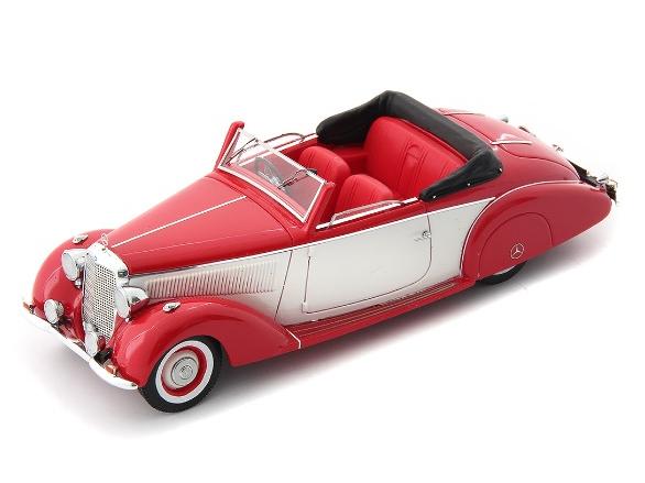 Auto Cult/オートカルト メルセデス・ベンツ 230 コンバーチブル(W153)1939 レッド&ホワイト