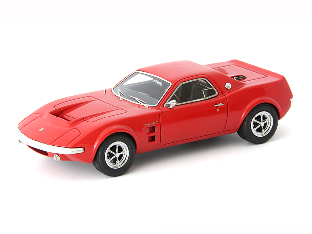 Auto Cult/オートカルト Ford Mach 2 Concept 1967 レッド