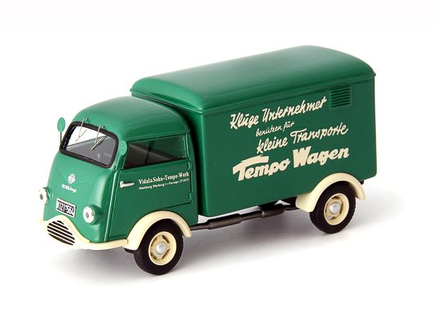 """Auto Cult/オートカルト Tempo Wiking series 1 """"Tempo"""" 1953年 ドイツ グリーン/アイヴォリー"""
