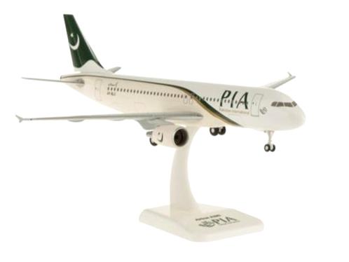 HoganWings/ホーガンウイングス A320 パキスタン航空 ランディングギア/スタンド付属