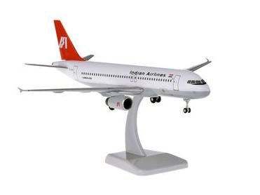 HoganWings/ホーガンウイングス A320 インディアン航空 ランディングギア&スタンド付属