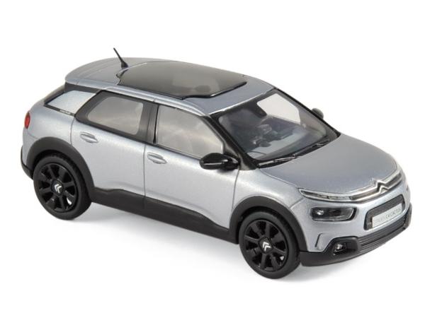 NOREV/ノレブ シトロエン C4 カクタス 2018 Aluminium Grey & Black deco