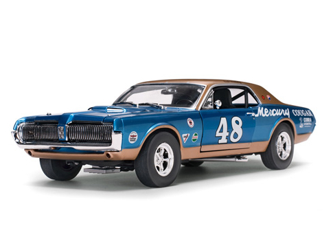 SunStar/サンスター マーキュリー クーガー レーシング 1967 #48 Scott Hackenson 2004