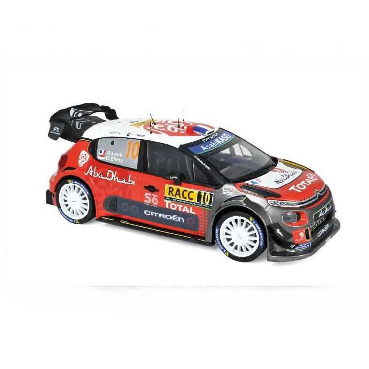 NOREV/ノレブ シトロエン C3 WRC 2018 ラリースペイン #10  S.Loeb / D.Elena