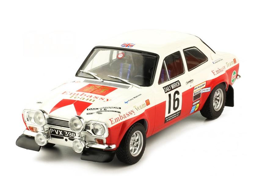 ixo/イクソ フォード エスコート MK1 RS 1600 1971年RACラリー #16 T.Makinen / H.Liddon