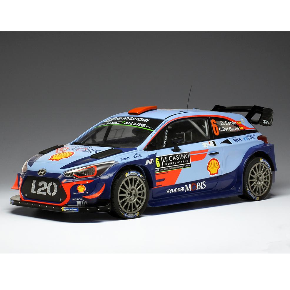 ixo/イクソ ヒュンダイ i20 WRC 2018年ラリー・モンテカルロ #6 D.Sordo/C.Del Barrio