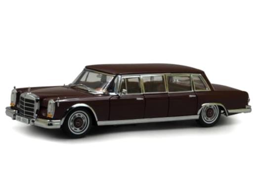 SunStar/サンスター メルセデス・ベンツ 600 プルマン 1966 マルーン
