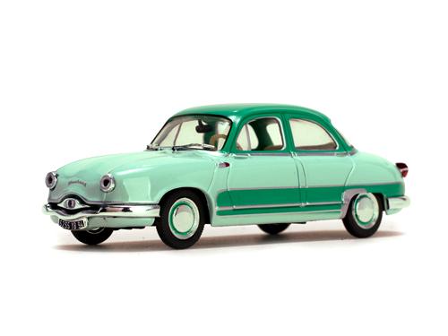 Quartzo/カルツォ パナール ディナ Z12 Grand Standing 1957 ライトグリーン/ダークグリーン