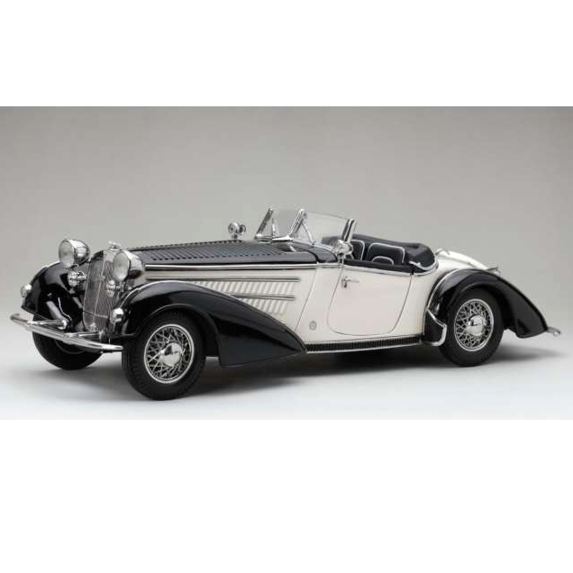 SunStar/サンスター ホルヒ 855 ロードスター 1939  ブラック/ホワイト