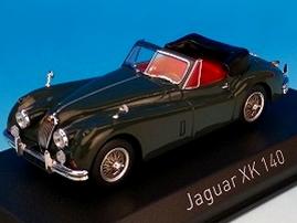 NOREV/ノレブ ジャガー XK140 カブリオレ 1957 ダークメタリックグレー