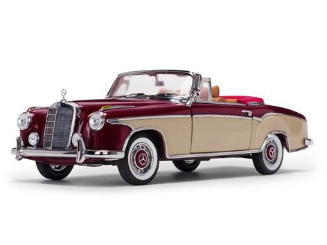 SunStar/サンスター メルセデス・ベンツ 220 SE オープン  コンバーチブル  1958  レッド/クリーム