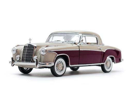 SunStar/サンスター メルセデス・ベンツ 220 SE クーペ 1959 クリーム/レッド
