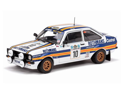 SunStar/サンスター フォード エスコート MKII 1980年Rally Acropolis 1位 #10 A.Vatanen/D.Richards
