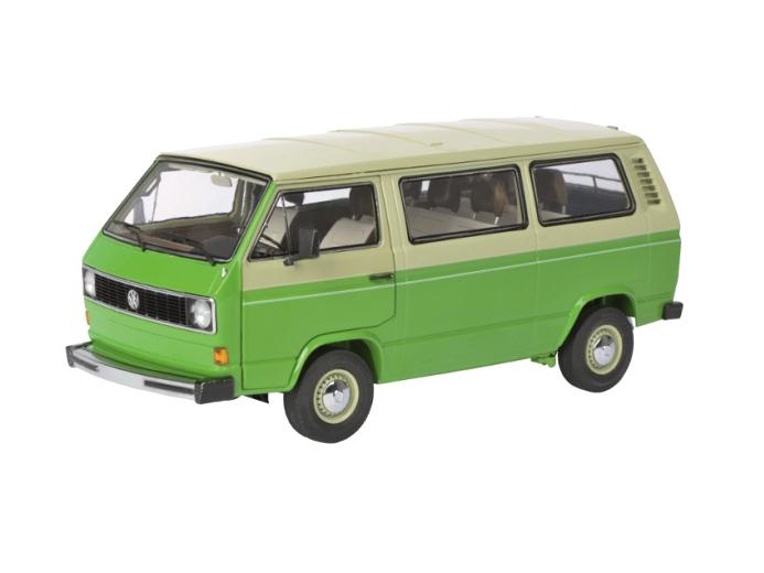 Schuco/シュコー VW T3 バス ベージュ/グリーン