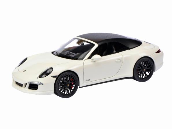 Schuco/シュコー ポルシェ 911 GTS ホワイト