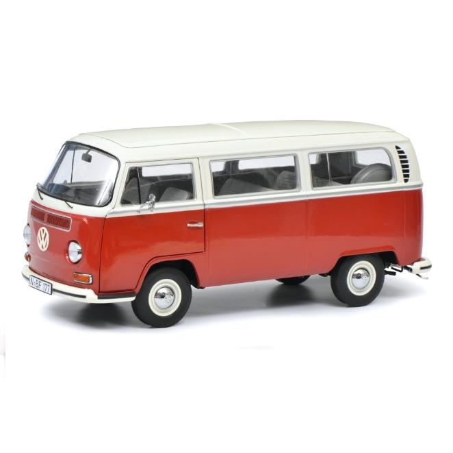 Schuco/シュコー VW T2a バス L レッド/ホワイト