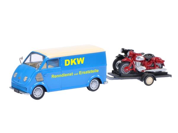 Schuco/シュコー DKW Schnelllaster DKW バイクトレーラー DKW RT 125 DKW RT 350