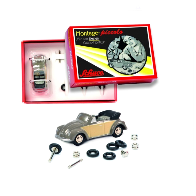 Schuco/シュコー ピッコロコンストラクションキット VW ビートル カブリオ