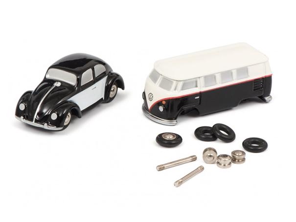 Schuco/シュコー ピッコロ VW T1バス ビートル 組立キット