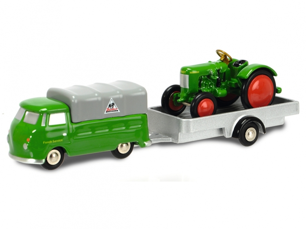 Schuco/シュコー ピッコロVW T1 トレーラー トラクター付