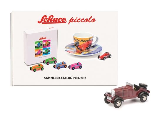 Schuco/シュコー ピッコロセット メルセデス・ベンツ SSKL & コレクターカタログ 1994-2016