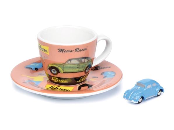 """Schuco/シュコー ピッコロ+エスプレッソカップセット VII  """"Micro Racer""""  VW ビートル"""