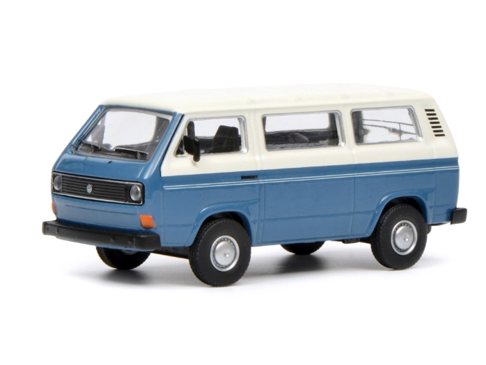 Schuco/シュコー VW T3 バス ブルー/ホワイト