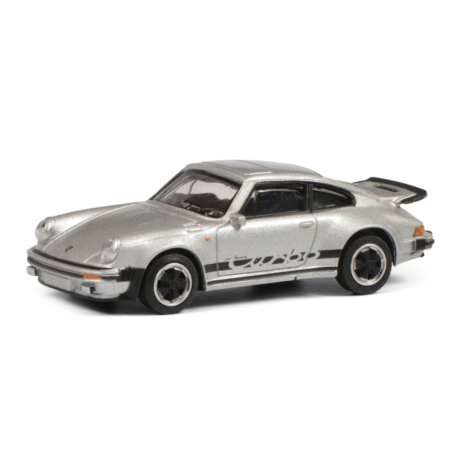 Schuco/シュコー ポルシェ 911 3.0 ターボ  メタリックシルバー