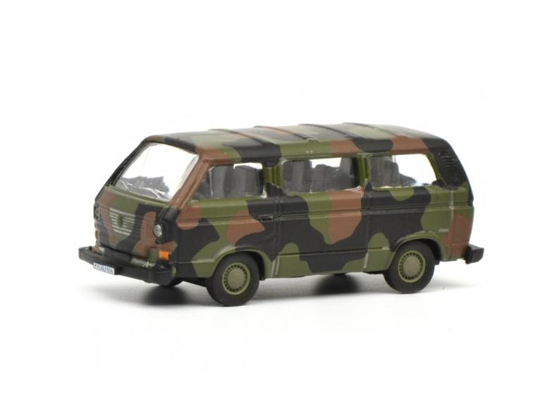 Schuco/シュコー VW T3 バス ドイツ連邦軍