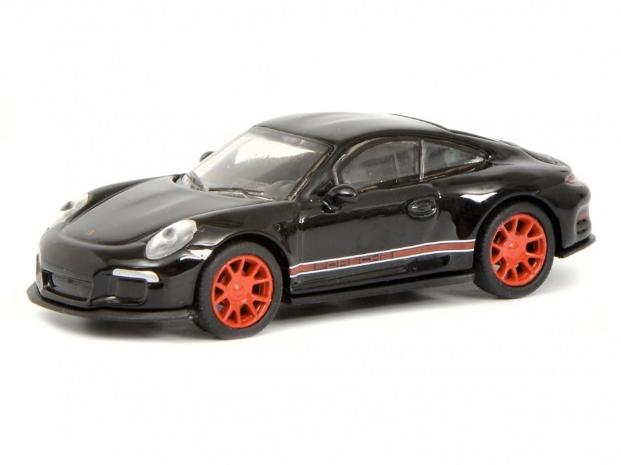 Schuco/シュコー ポルシェ 911 R ブラック/レッド