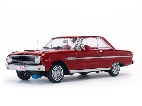 SunStar/サンスター フォード ファルコン ハードトップ 1963 Rangoon  レッド