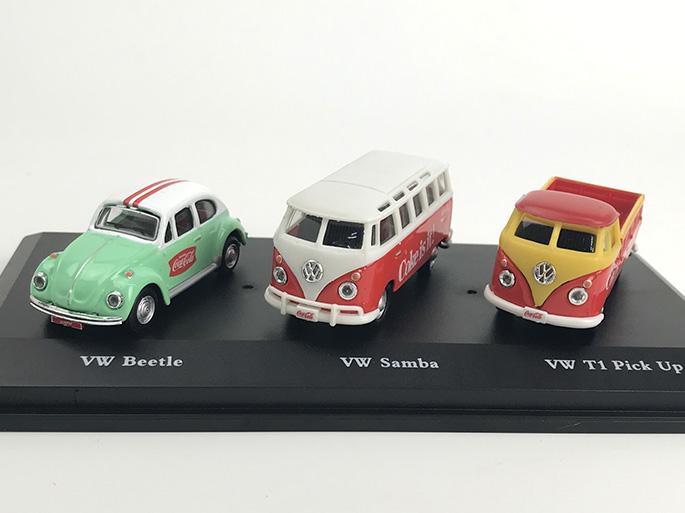MOTORCITY CLASSICS VW ギフトセット 1962サンバ &1966ビートル &1962 T1 ピックアップ