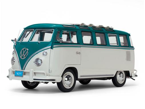 SunStar/サンスター VW サンバ 1962 ブルー/グレーベージュ
