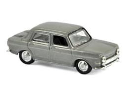NOREV/ノレブ シムカ 1000 GLS 1968 マーフィー メタリックグレー (×4個)