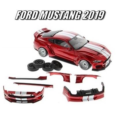 DIECAST MASTERS フォード マスタング 2019 ワイドボディキット RHD