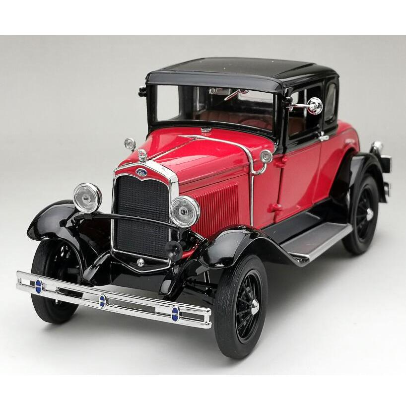 SunStar/サンスター フォード モデル A クーペ 1931  オーロラレッド/ アンダルサイトブルー