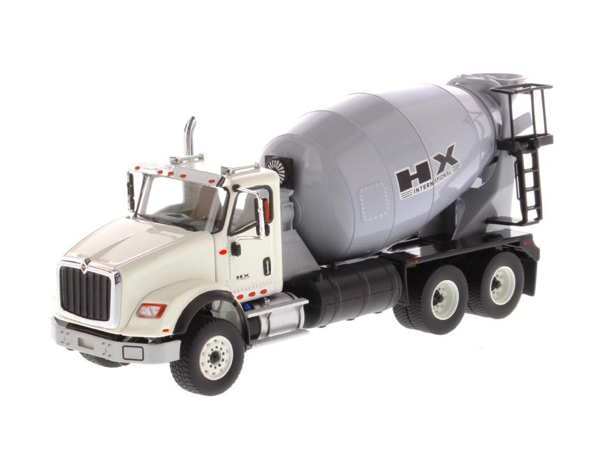 DIECAST MASTERS インターナショナル HX615 コンクリートミキサー ホワイト/ライトグレー