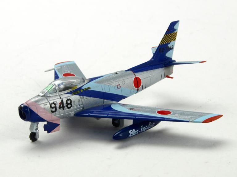 M-SERIES/エム シリーズ F-86F-40 航空自衛隊 ブルーインパルス 初期塗装 「ライト機」