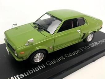 NOREV/ノレブ 三菱 ギャラン FTO GSR 1973年 ライト・グリーン