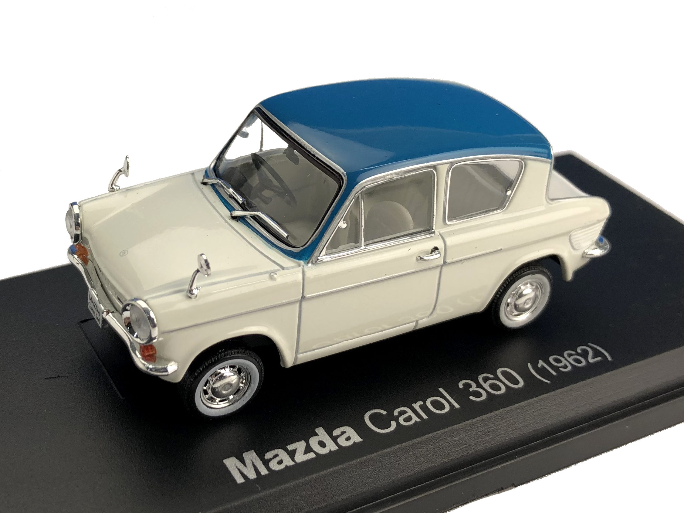 NOREV/ノレブ MAZDA CAROL 360 (KPDA) 1962年ホワイト/ブルー
