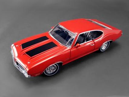 ACME/アクメ オールズモビル 442 1970 マタドールレッド ホワイトラインタイヤ