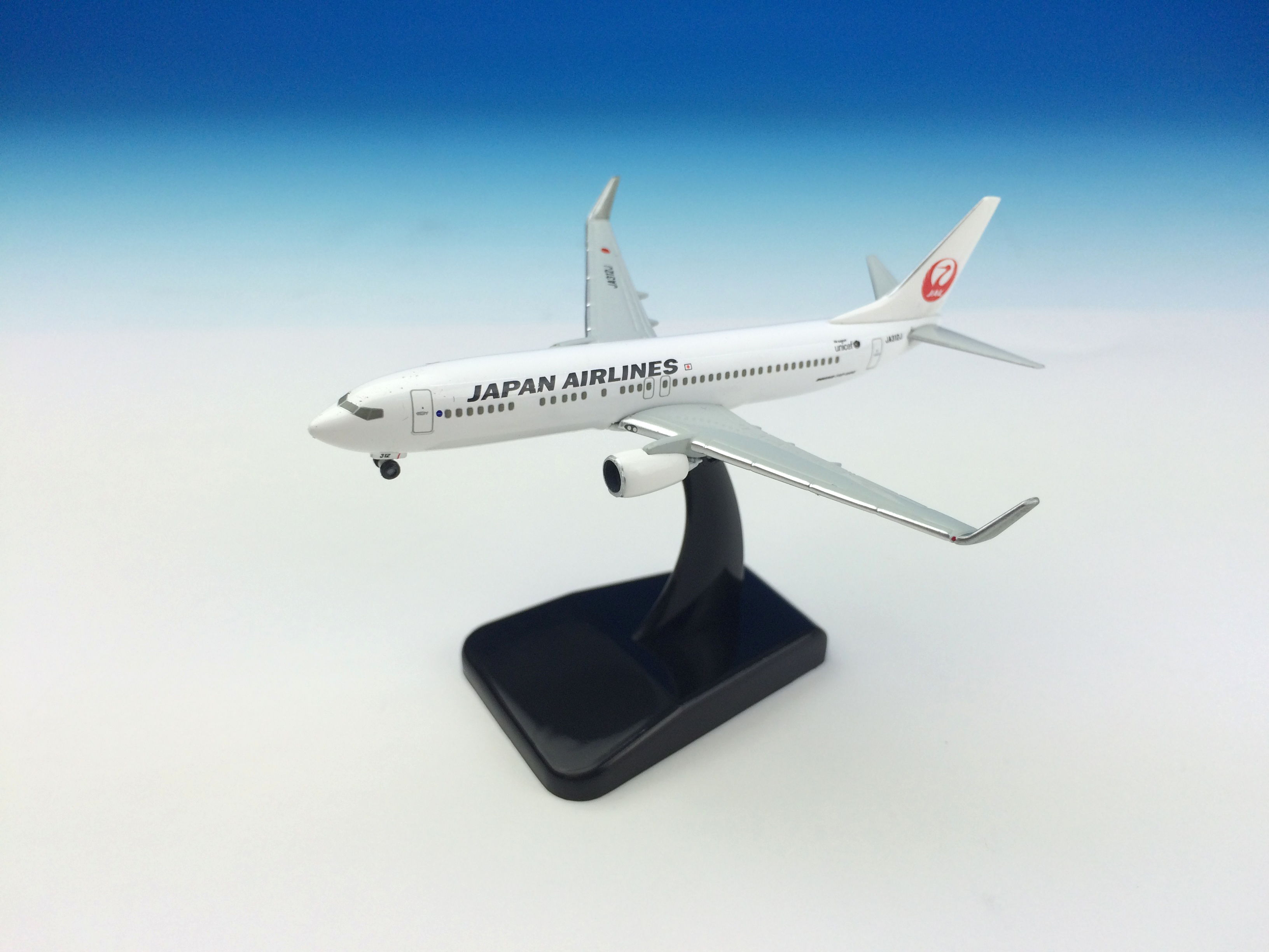 JAL/日本航空 JAL 737-800 1:500 ダイキャストモデル