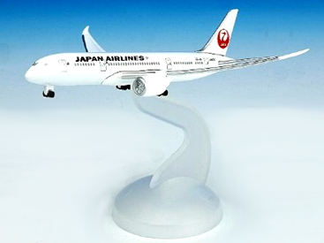 JAL/日本航空 JAL 787-8 1/600 ダイキャストモデル